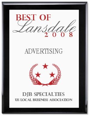 DJB Voted Best of Lansdale 2008