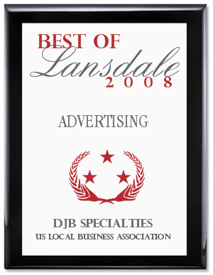 DJB Voted Best of Lansdale 2008