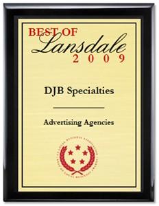 DJB Voted Best Of Lansdale 2009