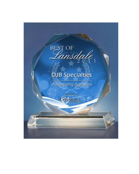 DJB Specialties Receives 2011 Best of Lansdale
