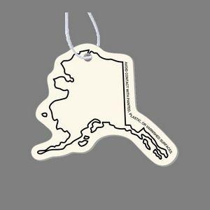 Paper Air Freshener - Alaska (Outline)