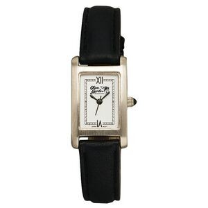 Women's Pedre Retro Leather Strap Watch W/ Rectangle Dial