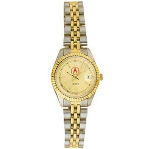 Pedre Women's 5th Avenue Two-Tone Watch (Gold Dial)