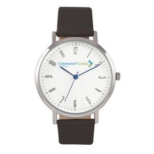 Pedre Zest Unisex Watch w/Leather Strap