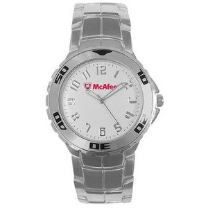 Men's Pedre Falcon Watch (Glossy White Dial)