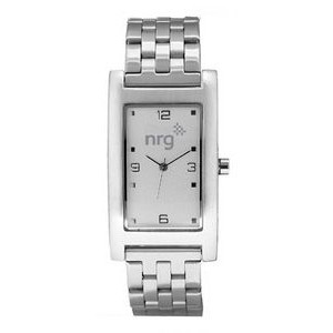 Men's Pedre Quad Brushed Silver Tone Bracelet Watch