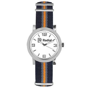 Pedre Spirit Watch (Orange/Grey/Black Strap)