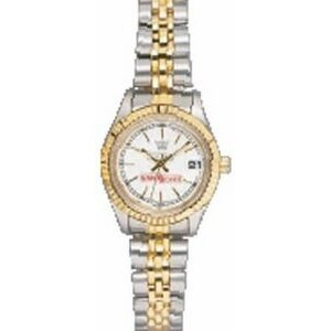 Pedre Women's 5th Avenue Two-Tone Watch (White Dial)