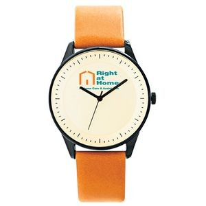 Pedre Zone Unisex Watch (Brown Calfskin Strap)