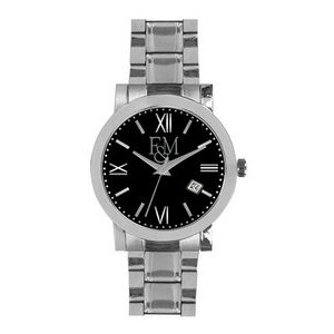 Men's Pedre Melville Watch (Black Dial)