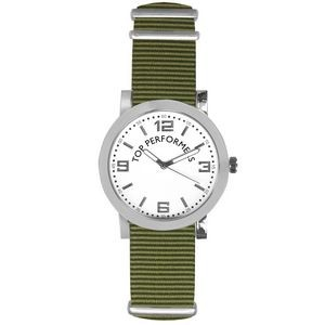 Pedre Spirit Watch (Green Strap)