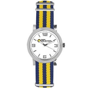 Pedre Spirit Watch (Navy Blue/Yellow Strap)