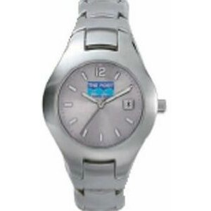 Women's Pedre Contempo Silver Metal Watch W/ Silver Dial