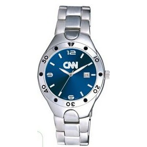 Men's Pedre Monaco Watch (Cobalt Blue Dial)