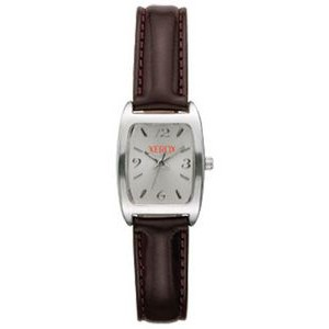 Women's Pedre Essex Silver-tone Watch W/ Silver Rectangle Dial