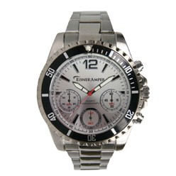 Pedre Men's Chronograph Watch (Silver Dial)