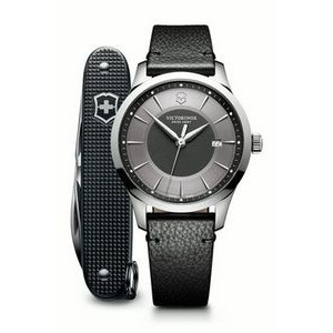 Alliance Large Gray Watch w/Gray Pioneer Knife