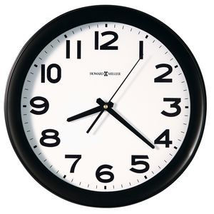 "Howard Miller Kenwick 13.5"" quartz wall clock"