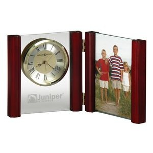 Howard Miller Alex Hinged Wood & Glass Portrait Clock