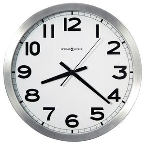 "Howard Miller Spokane 15.75"" wall clock"