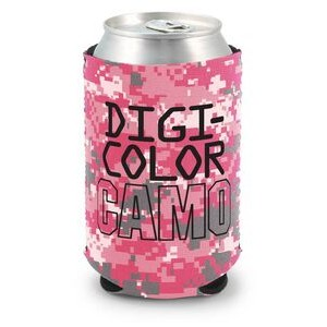 DigiColor Camo Kolder Kaddy Neoprene Can Cover (4 Color Process)